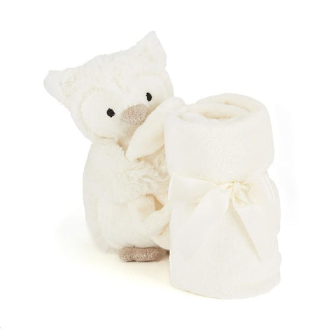 英国Jellycat HK Sale Snowy Owl Soother