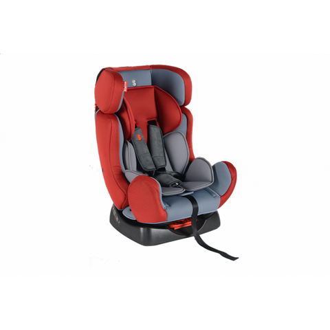 SNAPKIS SEASON 0-7 Carseat without ISOFIX ( RED/GREY )