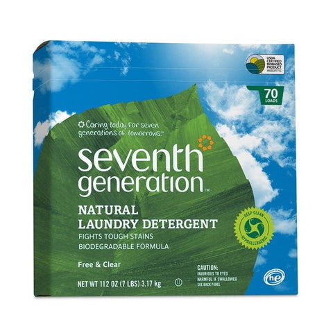 Seventh Generation Laundry Powder - Free & Clear
