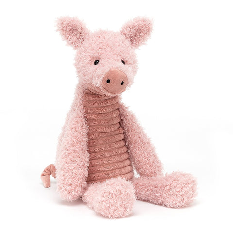 Jellycat HK Sale Wurly Pig