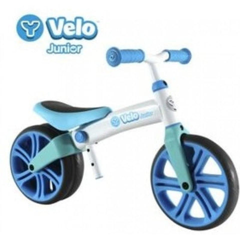 Y VELO JUNIOR BALANCE BIKE BLUE