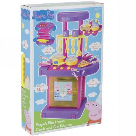 Peppa Pig's Electronic Cook & Go Kitchen