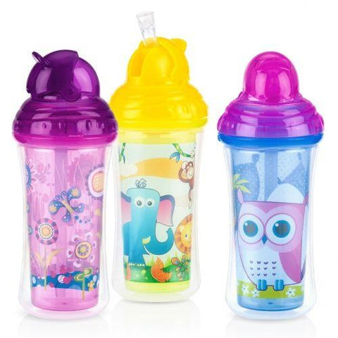 Nuby HK No-spill Insulated Clik-IT Flip-IT Cup 270ml