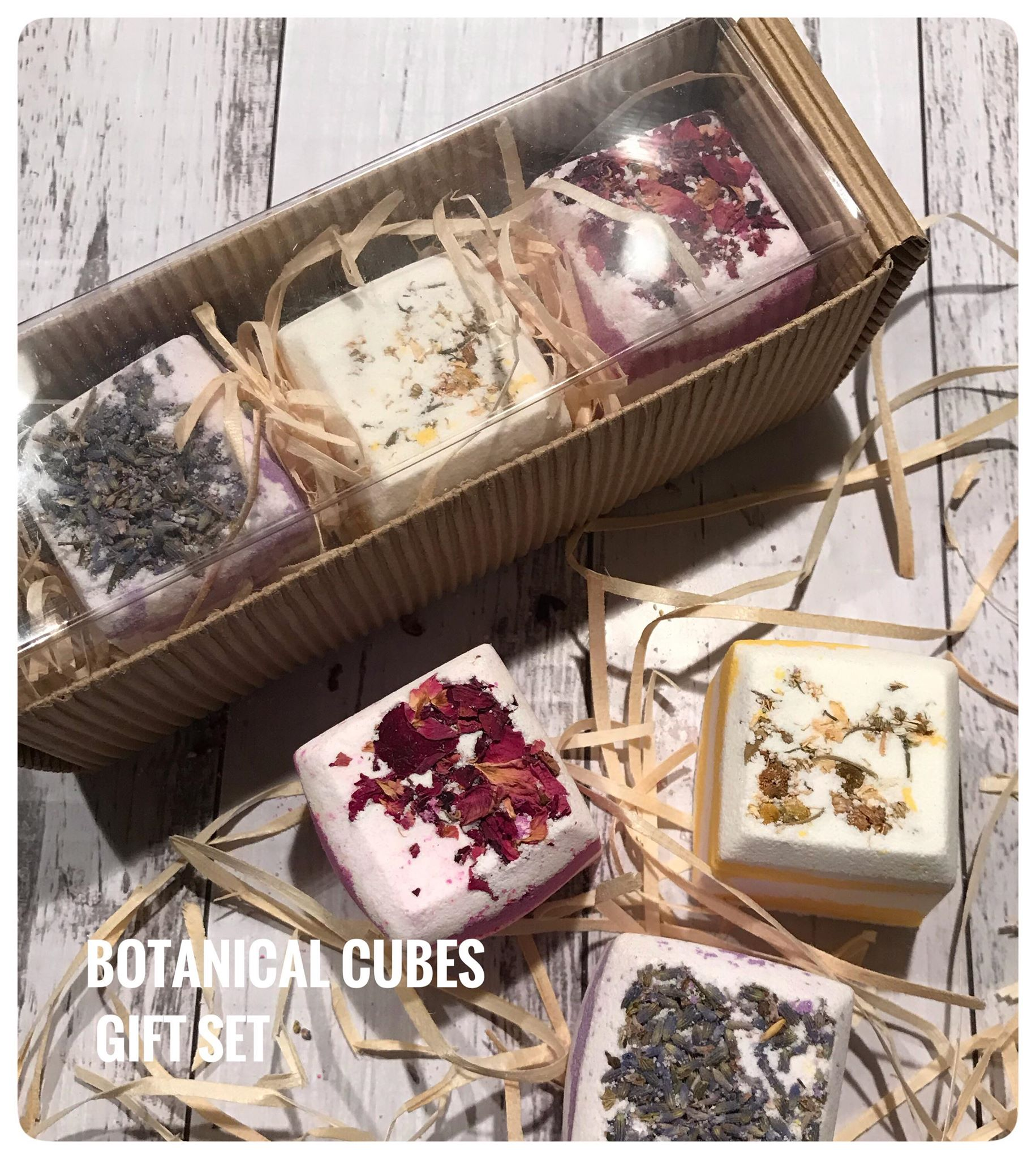 Bath Cube Gift Box - Botanicals