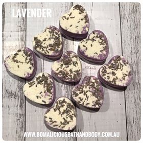 Botanical Hearts - Lavender