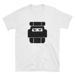 One Bag Vagabond White Unisex T-Shirt