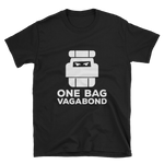 One Bag Vagabond Black Unisex T-Shirt