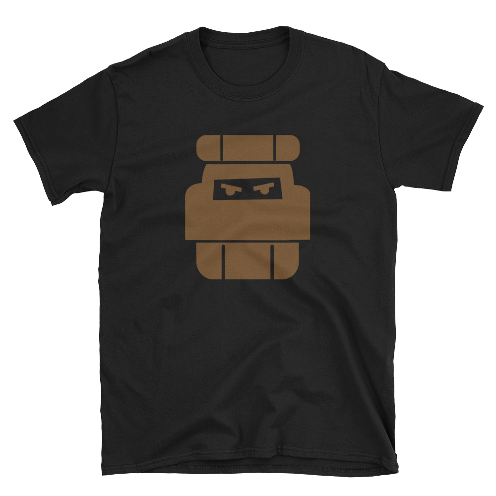 One Bag Vagabond Brown logo Unisex T-Shirt