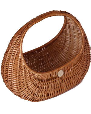 Hers Wave Handmade wicker straw bag basket summer accessory fashion
