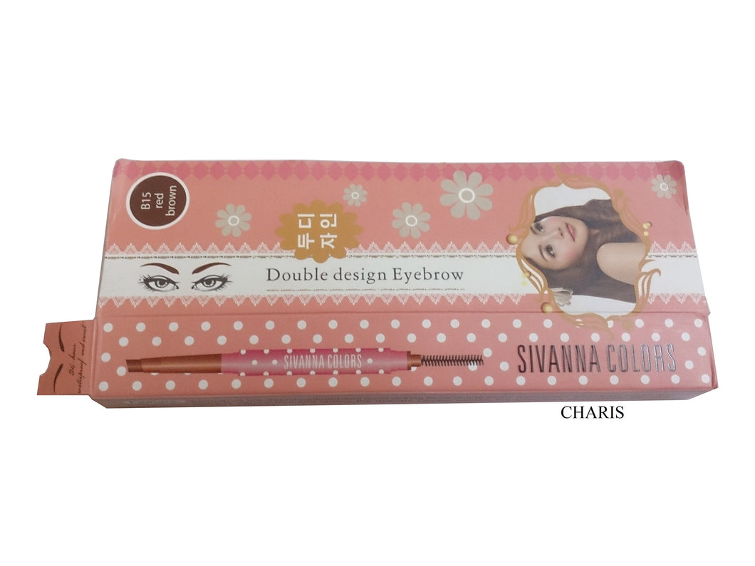 Sivanna colors Double designed Eyebrow pencil