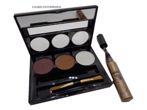 Sivanna colors Eyebrow Kit With Highlight Hair Mascara