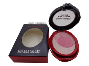 Sivanna Colors  Matte Flower Shaped Multi Colored Blusher