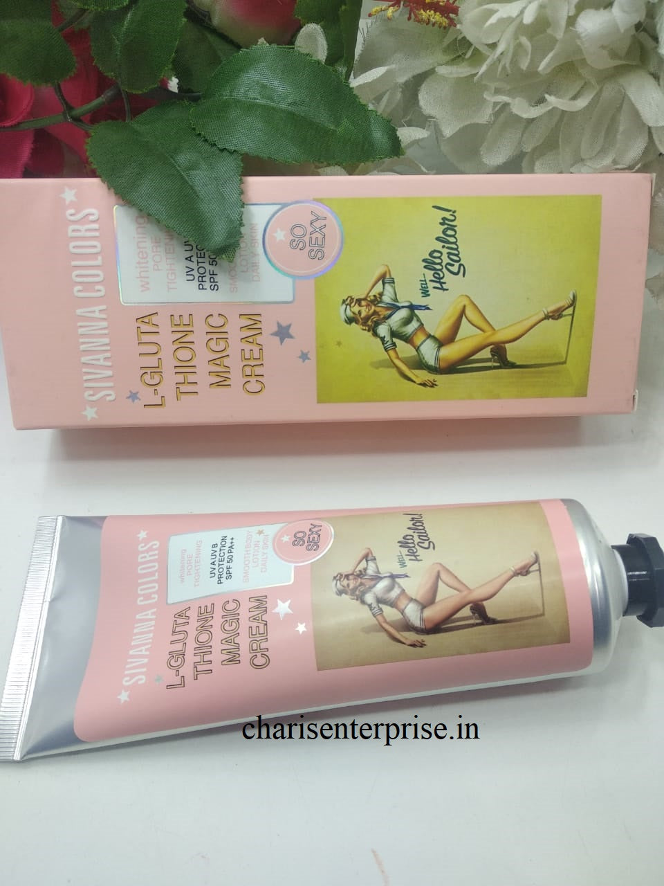 A Sivanna Colors Whitening Brightening Pore Cream