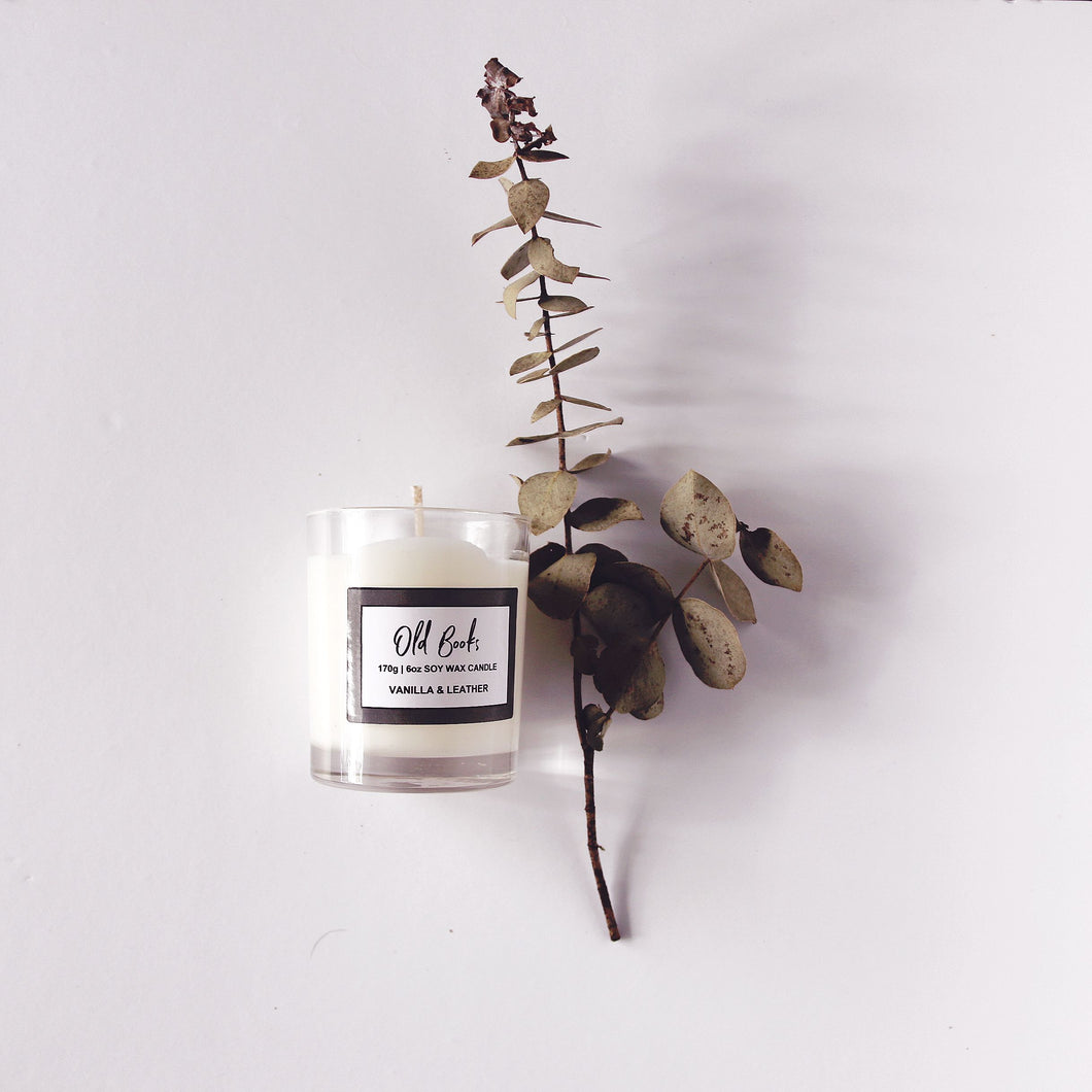 Old Books 180g | 6oz soywax candle