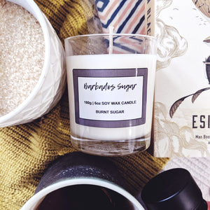 Barbados Sugar 180g | 6oz soywax candle