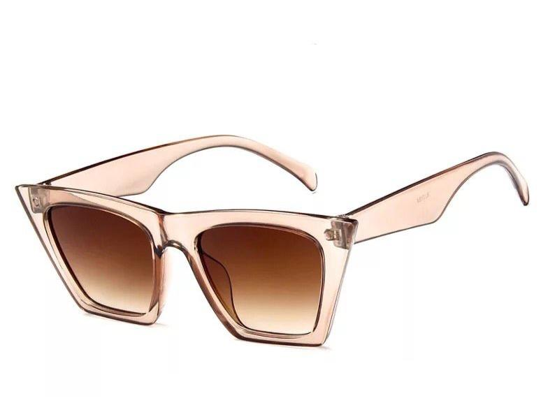 The Amelia Champagne Sunglasses - Festigirl