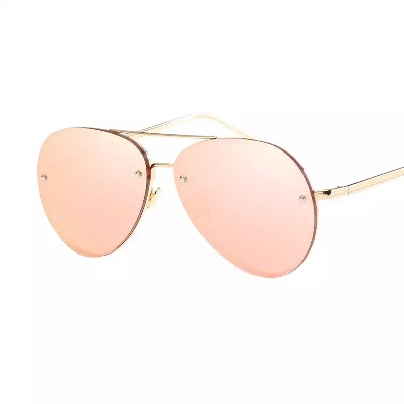 Rose Gold Aviators - Festigirl