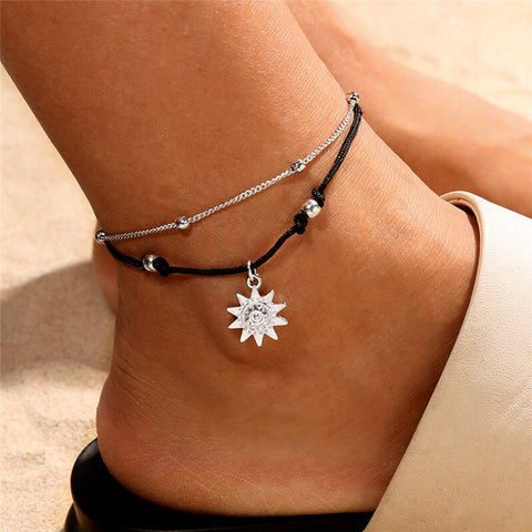 Bohemian Style Star Ankle