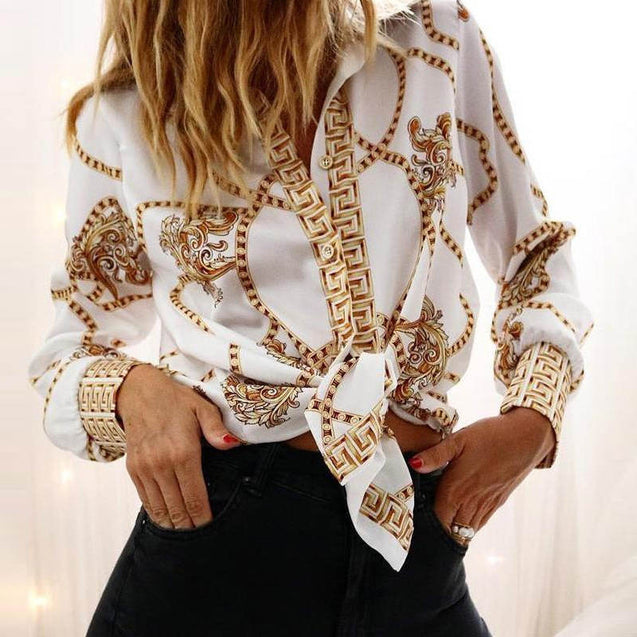 Broderie Anglaise Lace Hollow Out Lantern Sleeve Shirts for Women|Blouses & Shirts