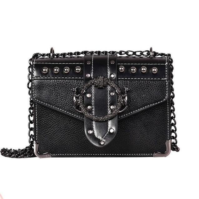 European Fashion Square Shoulder Bag