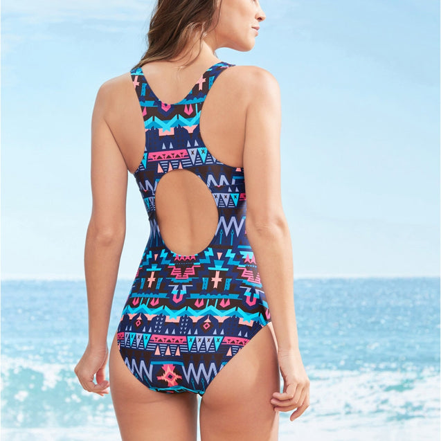 Hollow One Piece Swimsuit