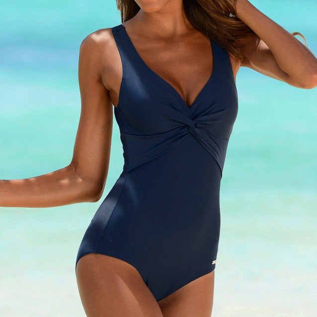 Push Up One Piece Swimsuit