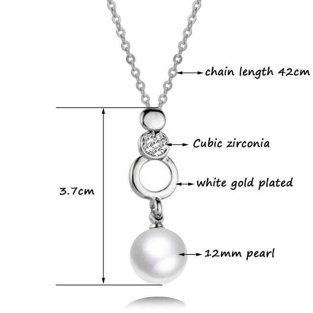 Ball Shape Pearl Necklace