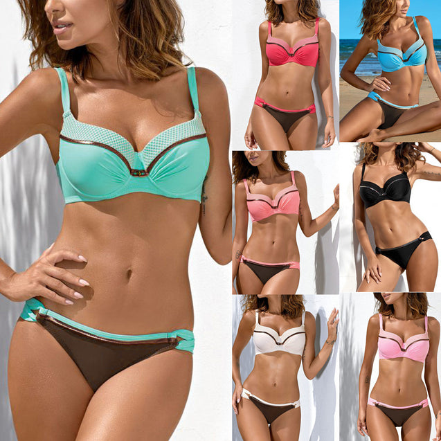 Bandage Push Up Bikini Set