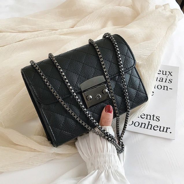Small PU Leather Shoulder Bag