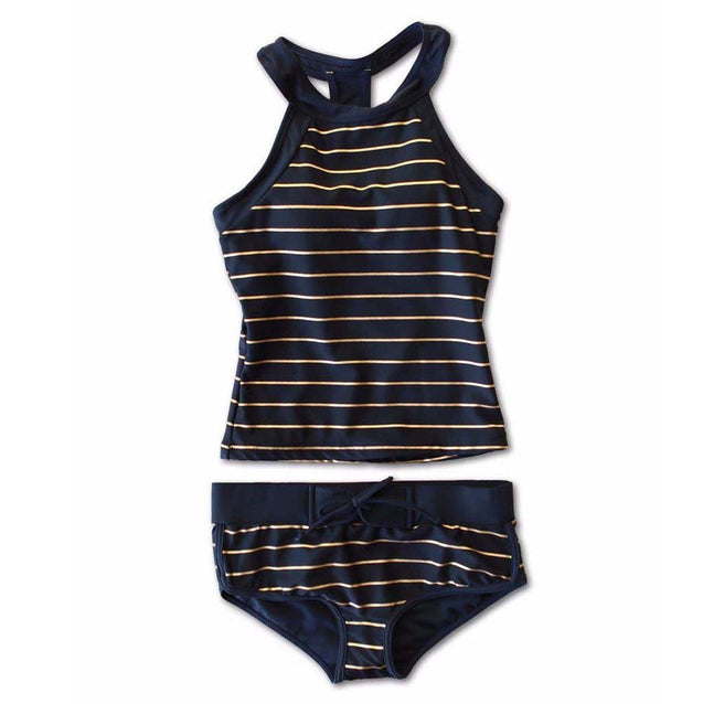 Women Black Push Up Tankini