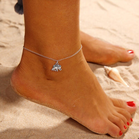 Elephant Charm  Anklets For Women