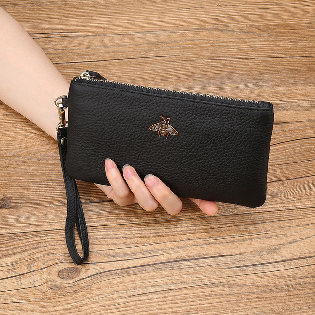 Women Brand Genuine Leather Clutches