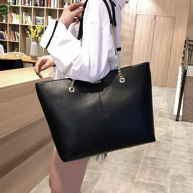 Women PU Leather Shoulder Bag