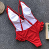 Ruffles One Piece Bikini Set