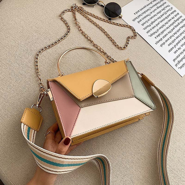 PU Leather Small Crossbody Bag For Ladies