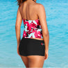 Women Multi Color Tankini Sets