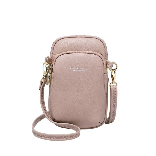 Women Small Hasp Crossbody Bag