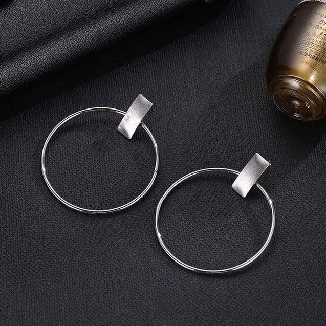 Women Fashion Minimalist Hoop Earring