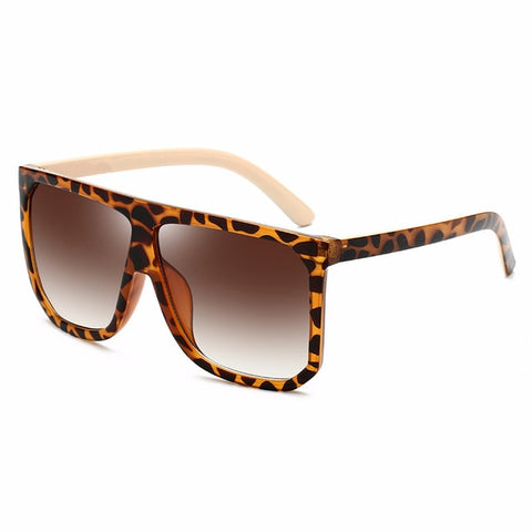 Square Sunglasses Women Fashion Brand Oversized Sunglasses
