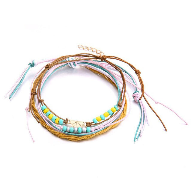 Bohemian Beaded Anklet For Women