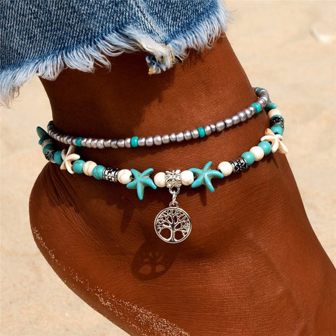 Image of tree anklet