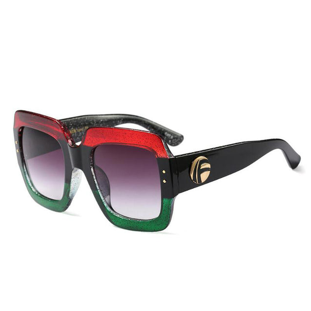 Retro Oversize Sunglasses