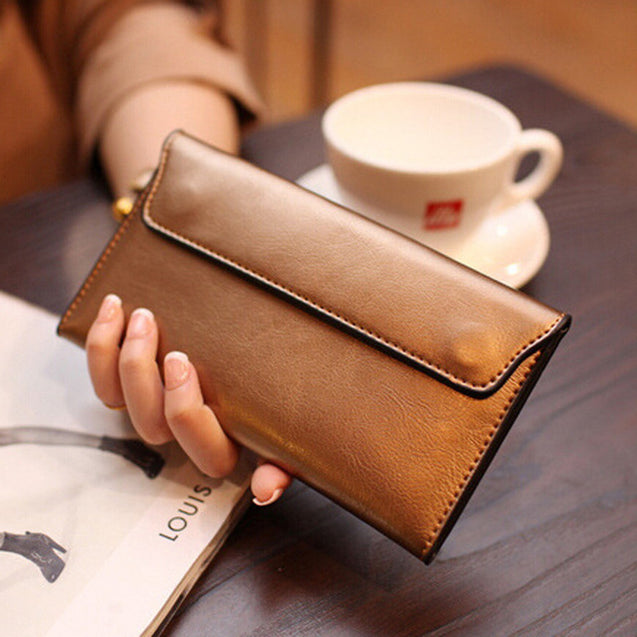 Women's Genuine Leather Mini Clutch Bags