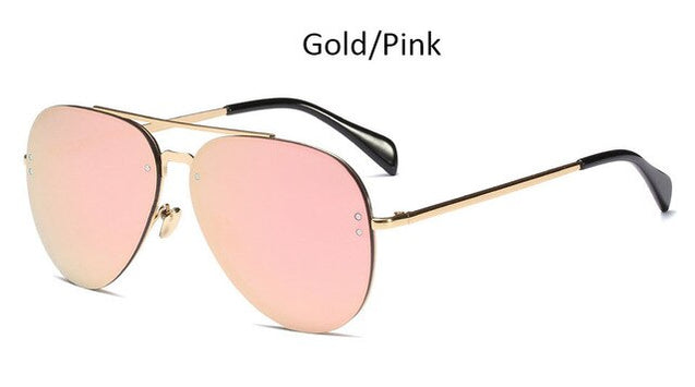 Pilot Mirror Sunglasses Women