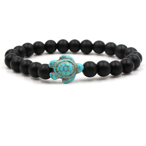 Green Turtle Natural Turquoise Stone Bracelet