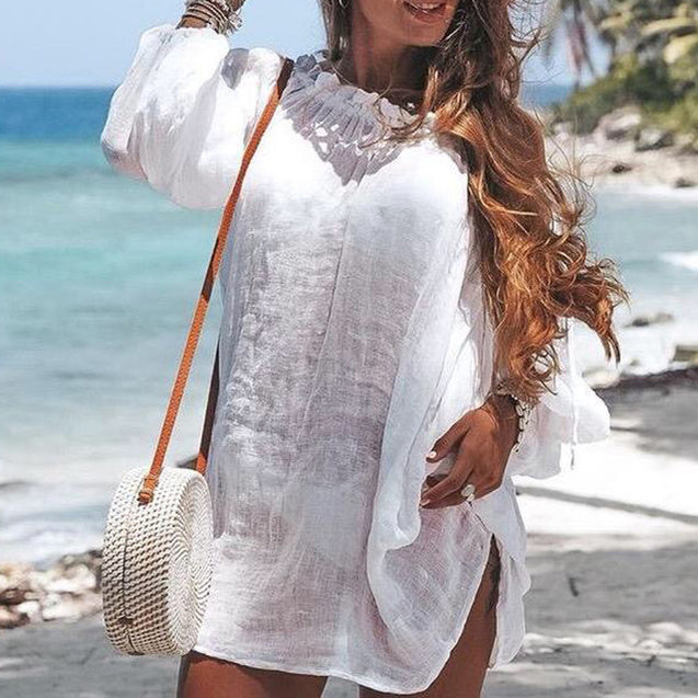 Off Shoulder Bikini Cover Up
