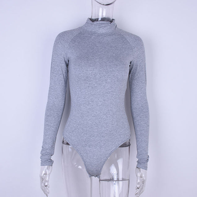 Long Sleeve Stretch Bodysuit