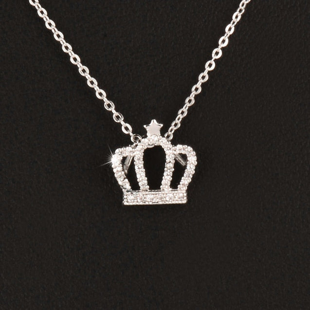 Elegant Queen Crown Choker Necklace