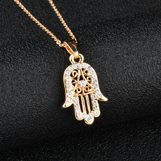 Classic Hand Necklace Pendant