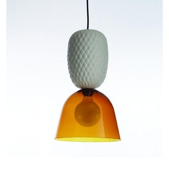 Modern ceramic pineapple ceiling pendant light